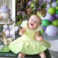 Filha de Justus e Ana Paula Siebert, Vicky encantou ao aparecer fantasia de fadinha