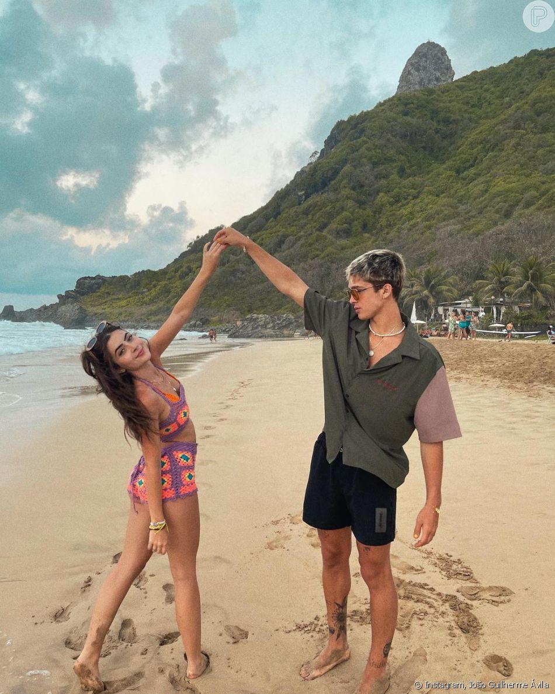 João Guilherme Ávila namora a influenciadora Jade Picon há mais de dois anos