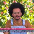 Em entrevista com Ana Maria Braga, João reagiu às falas de Rodolffo sobre seu cabelo