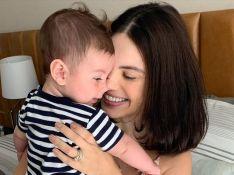 Sthefany Brito mostra filho em novas fotos e web compara: 'A cara do tio Kayky Brito'