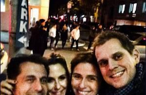 Giovanna Antonelli e Guilhermina Guinle se divertem juntas em Nova York. Fotos!