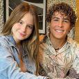 Sophia Valverde e Igor Jansen estão sendo apontados como casal desde setembro de 2020