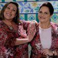 Bárbara Bruno e Mira Haar atuaram na novela infantil do SBT