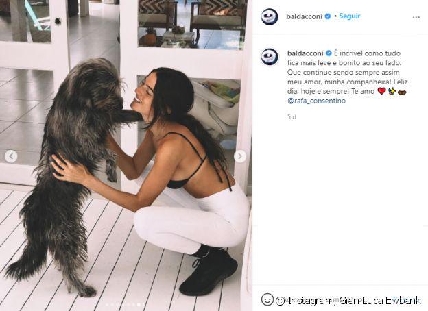 Gian Luca Ewbank exibe foto da nova namorada e web compara com Giovanna Ewbank