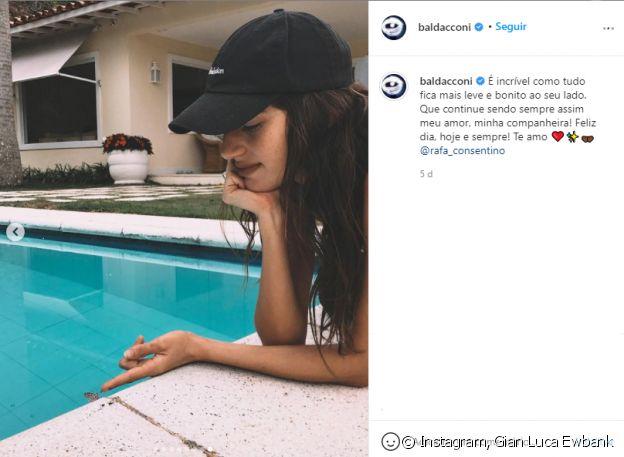 Nova namorada de Gian Luca Ewbank é comparada com Giovanna Ewbank em fotos de perfil