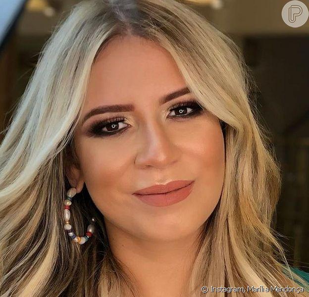 Marília Mendonça exibiu o corpo magro em sua rede social neste domingo, 23 de maio de 2021