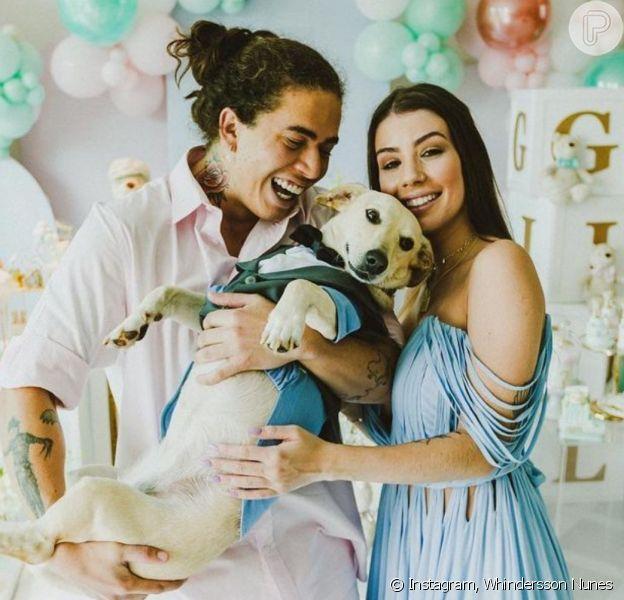 Whindersson Nunes e Maria Lina ganham apoio de Alok após nascimento prematuro do filho