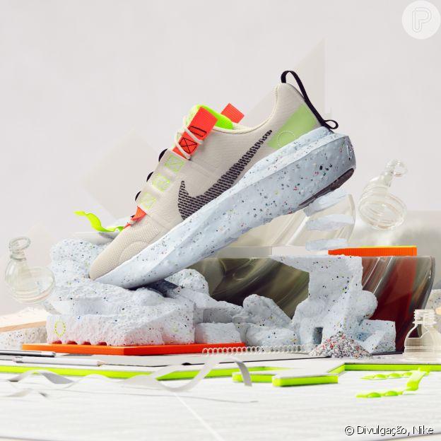 Nova linha de sneakers, Nike Crater Impact é feita com material reciclado