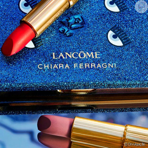 A influencer Chiara Ferragni criou a segunda collab com Lancôme