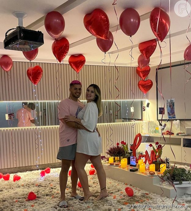 Virgínia Fonseca preparou surpresa romântica para Zé Felipe