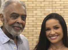 Juliette se emociona em live e faz Gilberto Gil chorar: 'Energia tão linda'. Veja!