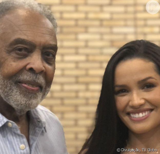 Juliette estreou como cantora ao lado de Gilberto Gil neste domingo, 13 de junho de 2021
