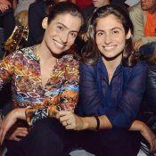 Gêmea de Renata Vasconcellos admite que dá palpite no figurino da jornalista