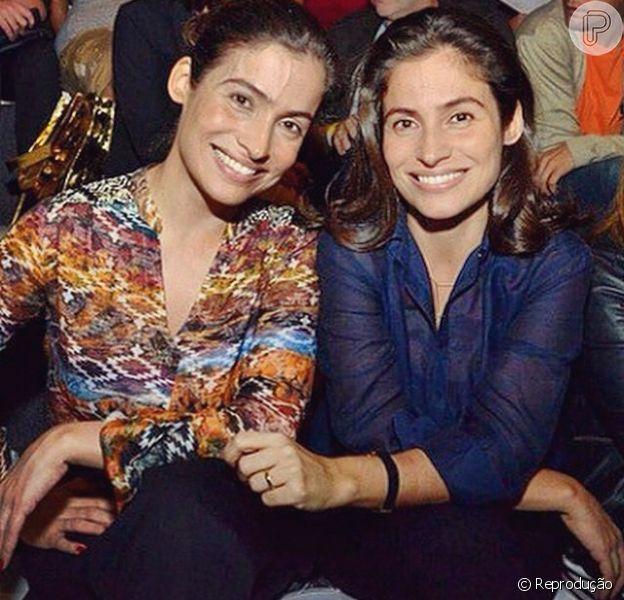 Lanza Mazza, estilista, é irmã gêmea de Renata Vasconcellos: 'Desde a época do colégio confundem a gente'