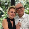 Ana Maria Braga lamentou a morte de Artur Xexéo, ocorrida neste domingo, 27 de maio de 2021: 'T ivemos mais uma grande perda'