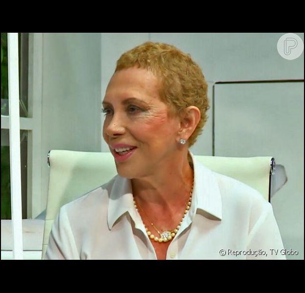 Arlete Salles falou sobre o período em que enfrentou um câncer no seio à revista 'Contigo': 'É muito doloroso. Mesmo com tantos amigos me apoiando, é solitário, devastador. É como atravessar um pântano'