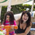 Samara Felippo conta que filha mais nova está com Covid: 'Irresponsabilidade alheia'