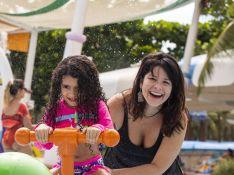 Filha mais nova de Samara Felippo é diagnosticada com Covid: 'Tantos sofrendo pela mesma coisa'