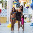 Samara Felippo, de 42 anos, tem duas filhas com o jogador de basquete Leandrinho: Lara, de 8 anos e Alícia, de 12