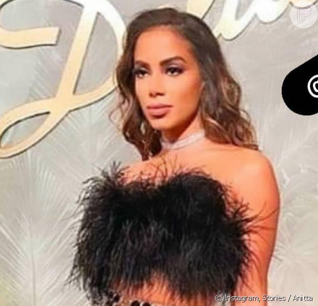 Anitta veste look de mais de R$ 14 mil para evento em Las Vegas