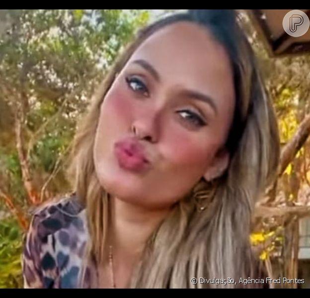 Sarah Andrade tomou a iniciativa do primeiro beijo em Lucas Viana