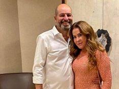 Zilu aparece em vídeo raro com o namorado empresário Antonio Casagrande na Flórida