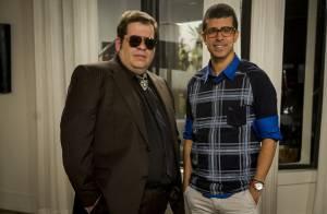 Leandro Hassum grava especial para o 'Fantástico', após cirurgia bariátrica