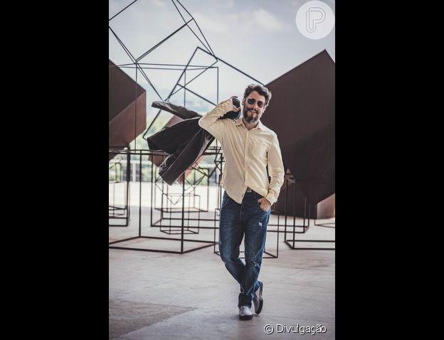 Cristiano Garcia na novela 'Gênesis' dá vida ao príncipe Nader, neto de Abimeleque (Leonardo Franco)