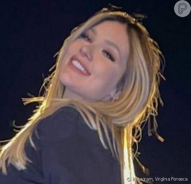 Virgínia Fonseca reagiu ao ser acusada de engravidar para aumentar engajamento na web