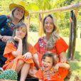 Filha de Helô Pinheiro, Ticiane Pinheiro é mãe de Rafaela Justus e Manuella