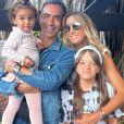 Ticiane Pinheiro tem 2 filhas - Rafaella Justus e Manuella