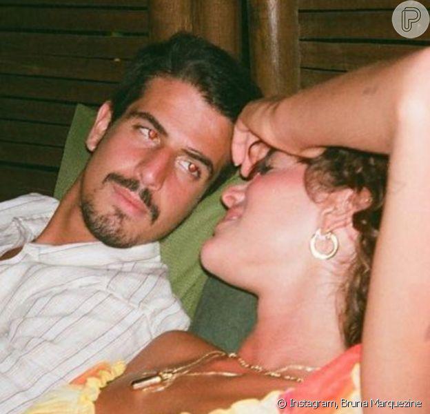 Bruna Marquezine é lembrada em postagem de Enzo Celulari: 'Imagino seu filho com a Bruna'