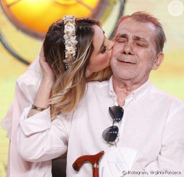 Virgínia Fonseca pede 'energias positivas' e agradece apoio por intubação do pai: 'Tô melhor'