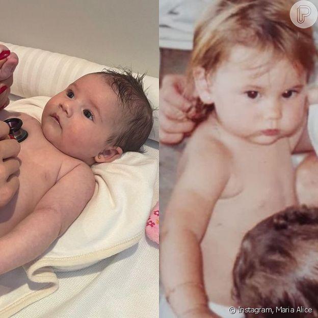 Maria Alice é comparada a Virgínia Fonseca quando nova por fãs