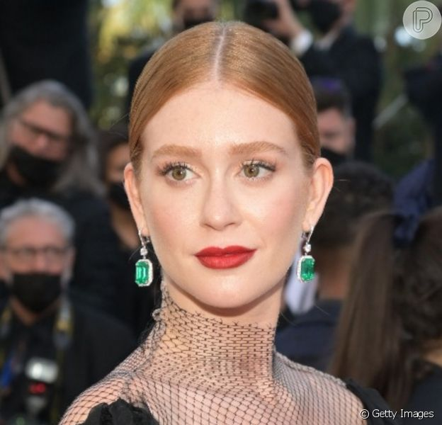 Marina Ruy Barbosa reagiu após web apontar alfinetada de Samantha Schmütz sobre sua ida ao festival de Cannes: 'Não deveria ser motivo de preocupação'