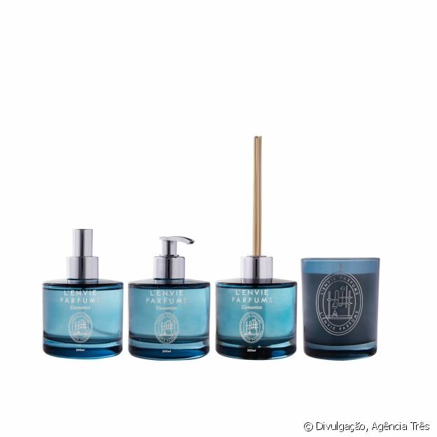 Linha Elements, da L'Envie Parfums
