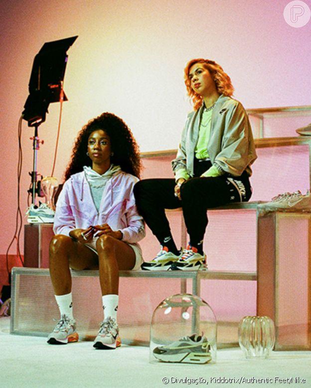 Camilla de Lucas e Ademara Barras estrelam nova campanha da Autenthic Feet