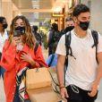 Giovanna Lancellotti e Gabriel David já haviam viajado para a Bahia