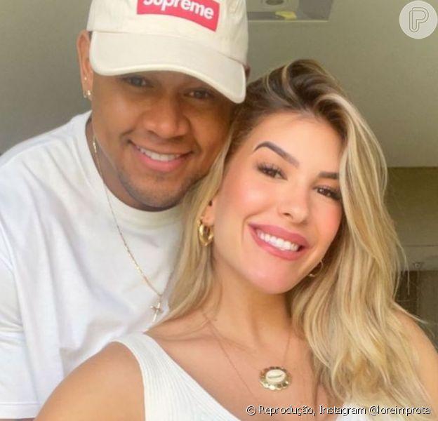 Lorena Improta e Léo Santana falaram da expectativa para a chegada de Liz