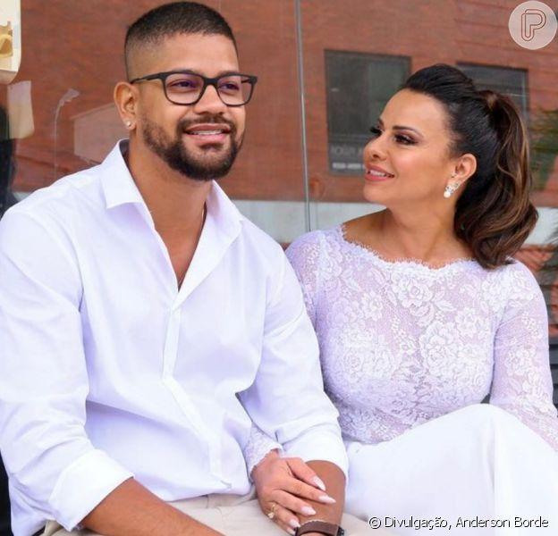 Viviane Araujo se declara para Guilherme Militão antes do casamento