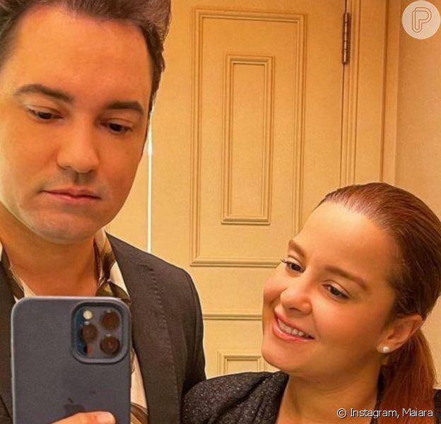 Maiara e Fernando Zor já circulam sem aliança após terminarem noivado