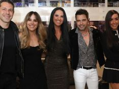 Zezé Di Camargo reúne a noiva, Graciele Lacerda, e filhos em show em SP. Veja fotos