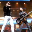 Zezé Di Camargo e Luciano voltaram aos palcos neste sábado, 4 de setembro de 2021