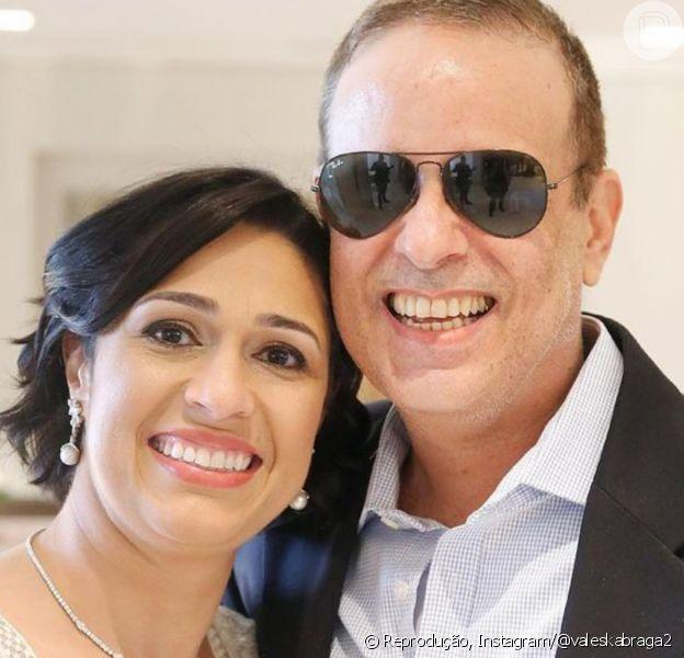 Viúva de Dudu Braga, Valeska se pronunciou pela 1ª vez após morte do marido: 'Estou buscando forças! Obrigada por tanto amor com o Dudu'
