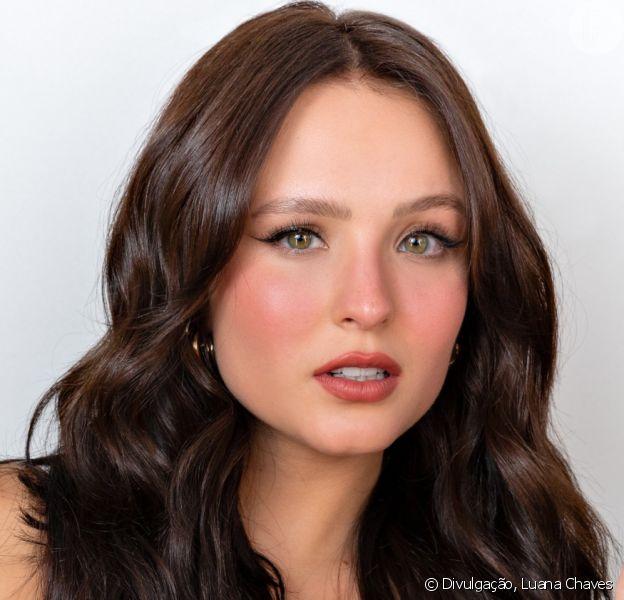 Larissa Manoela mudou o visual para personagem de sua próxima novela