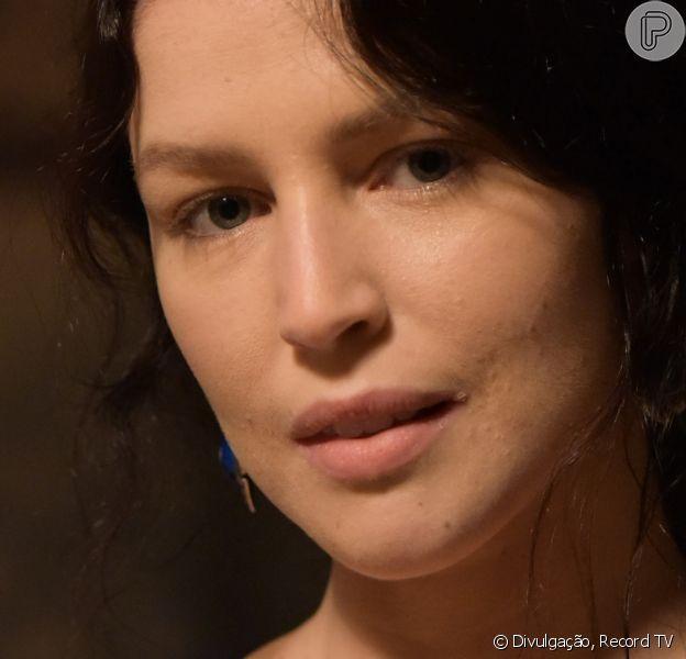 Novela 'Gênesis': Muriel (Rhaisa Batista) impõe condição para casamento com Judá (Thiago Rodrigues)