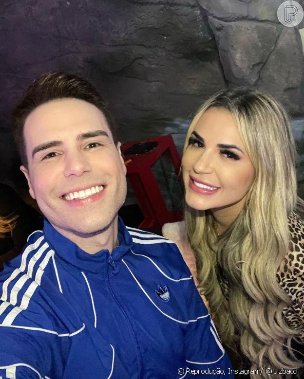 Luiz Bacci e Deolane Bezerra começaram uma amizade após a morte de MC Kevin