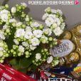 Virgínia Fonseca e Zé Felipe receberam flores e chocolates de Kevinho e sua namorada, após a morte do pai da influenciadora