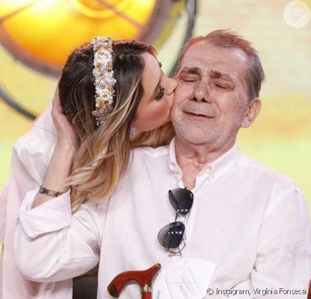 Virgínia Fonseca ganhou presentes de amigos, famosos e marcas após a morte do pai, Mario Serrão, aos 72 anos