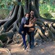 Fátima Bernardes, namorada de Túlio Gadêlha, realizou um procedimento para recuperar um tendão